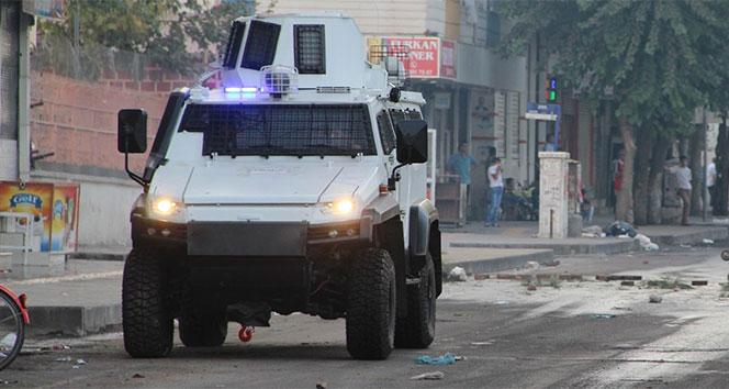 Zırhlı polis aracına mayınlı saldırı