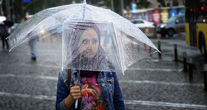Meteoroloji'den sağanak yağış uyarısı |24 Nisan yurtta hava durumu