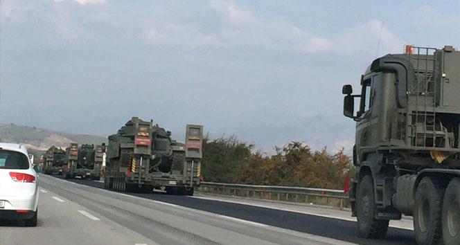 Diyarbakır'a tank sevkiyatı