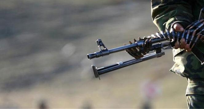 Teröristler askere ateş açtı: 1 yaralı