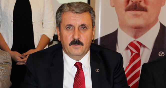 """BBP Genel Başkanı Destici: """"Ülkemize büyük geçmiş olsun"""""""