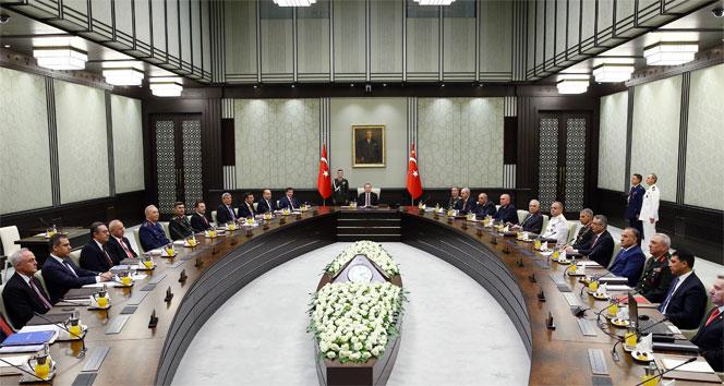 Milli Güvenlik Kurulu, OHAL gündemi ile Külliyede toplandı