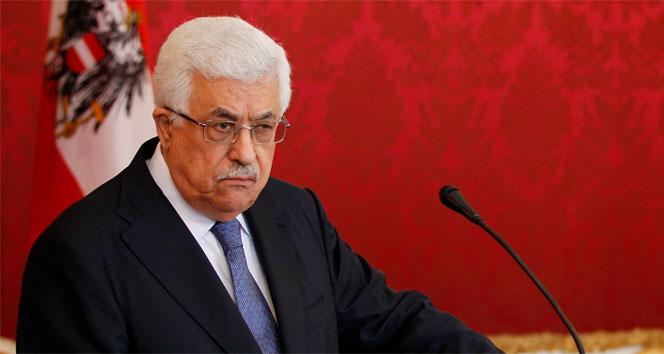 Filistin Devlet Başkanı Abbas'tan Trump'a tepki: