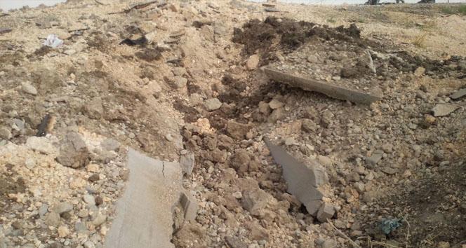 Diyarbakır'da tuzaklanmış patlayıcı imha edildi