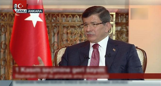 Davutoğlu: 'Beni tekrar bu partilere muhtaç etmeyin'