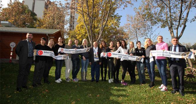 Yenimahalle Belediyesi Hentbol Takımı Avrupa'ya hazır