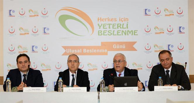Türkiye, ulusal beslenme verisi oluşturmalı