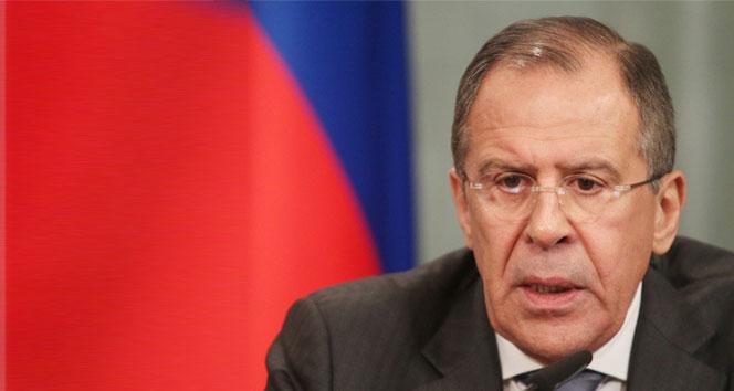 Rusya Dışişleri Bakanı Lavrov: 'Teröristler ile bir görüşme olamaz'