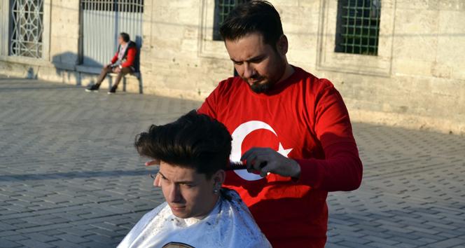 Türk berber dünyayı tıraş edecek