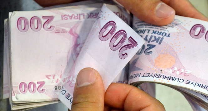 Ocak ayında bütçe fazlası 1,7 milyar lira oldu