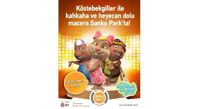Köstebekgiller Canlı Sahne Gösterisi Ile Sanko Parka Geliyor