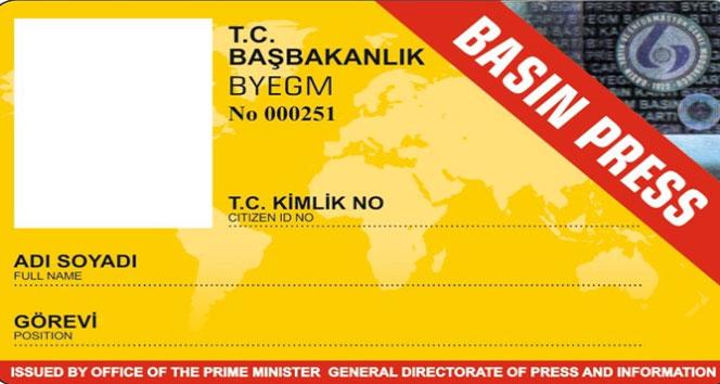 Sarı basın kartı resmi belge sayılmadı, olay KDK'ya gitti