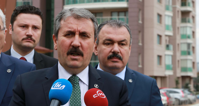 BBP Genel Başkanı Destici: 'Seçilmiş olmak teröre destek vermek, teröristi kollama hakkı vermez'