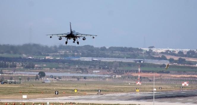 Suudi uçaklarının beklendiği İncirlik'te hava hareketliliği