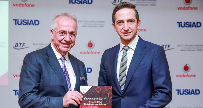 Vodafone ve TÜSİAD'tan 'dijitalleşme' işbirliği