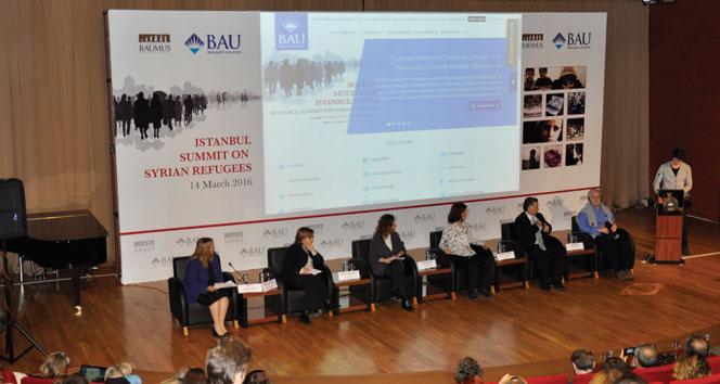 Suriyeli Mülteciler İstanbul Zirvesi gerçekleşti