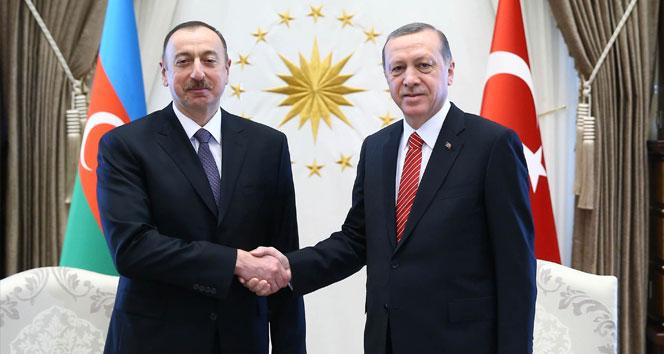 Erdoğan, Azerbaycan Cumhurbaşkanı İlham Aliyev telefonla görüştü