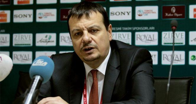 Ergin Ataman: 'Bu sezon hücum olarak en iyi oyunumuzu oynadık'