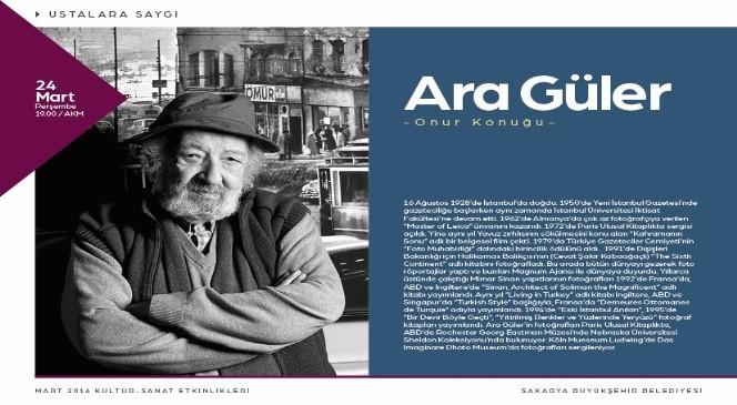 Ara Güler'e saygı
