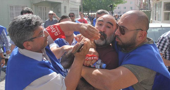 CHP İl Başkanına işçiden şok tepki!