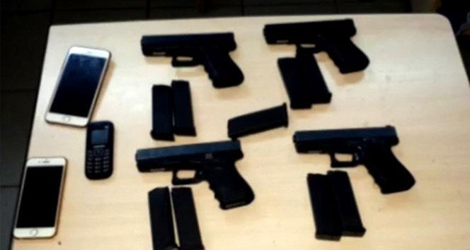 Samsun'da silah kaçakçılığı operasyonu: 18 gözaltı
