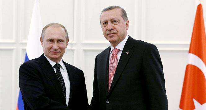 Putin-Erdoğan görüşmesinin ana gündemi Suriye