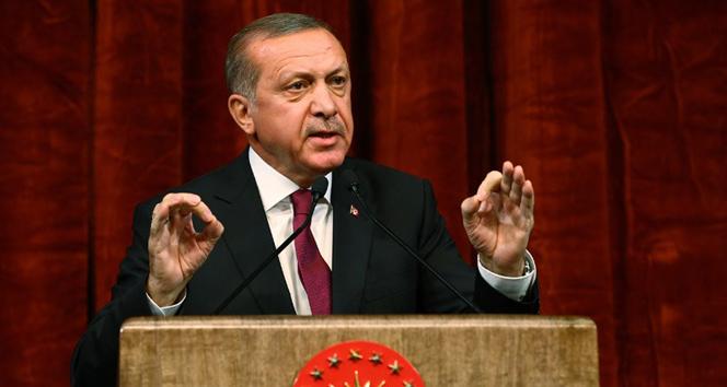 Erdoğan: 'Türkiye'de oynanan oyunu bozduk, şimdi sıra orada'