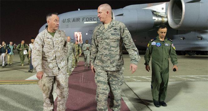 ABD Genelkurmay Başkanı, geceyi Türkiye'de geçirdi