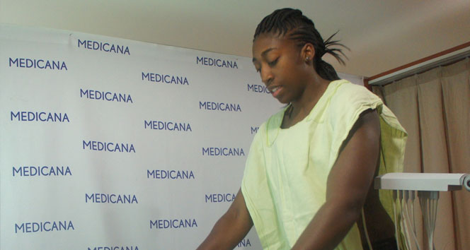 Kuanitra Holingsvorth sağlık kontrolünden geçti