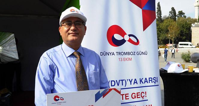Prof. Dr. Muzaffer Demir: 'Tromboz öldürebilir ve önlenebilir bir hastalık'