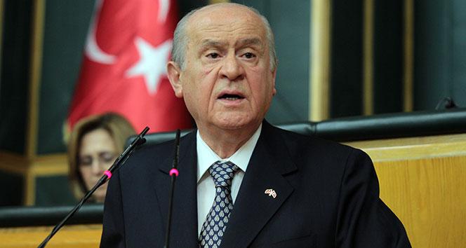 MHP lideri Bahçeli'den 'manşet' açıklaması