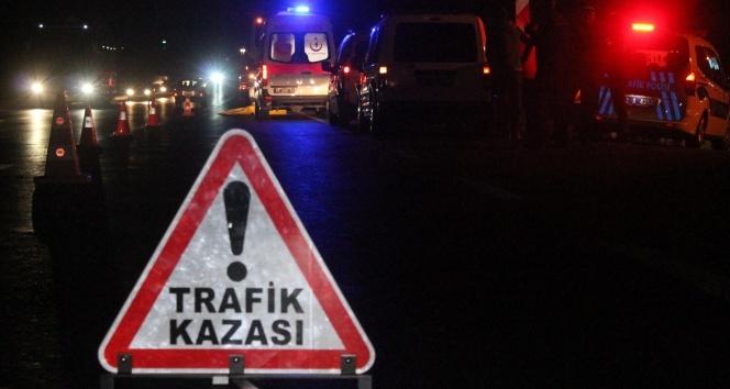 Adana'da cenaze dönüşü kaza: 3 ölü, 1 yaralı