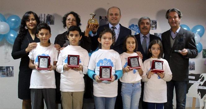 Saklı Su Projesiyle dünya birincisi oldular