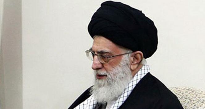 İran Dini Lideri Hamaney, ABD'ye sert çıktı