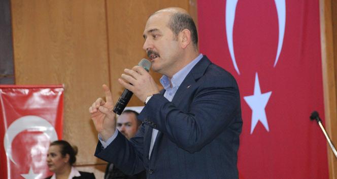 Bakan Süleyman Soylu: Biz zengin, özgür ve hür bir ülke olmak zorundayız