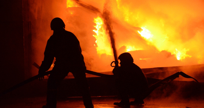 Sudan'da yangın