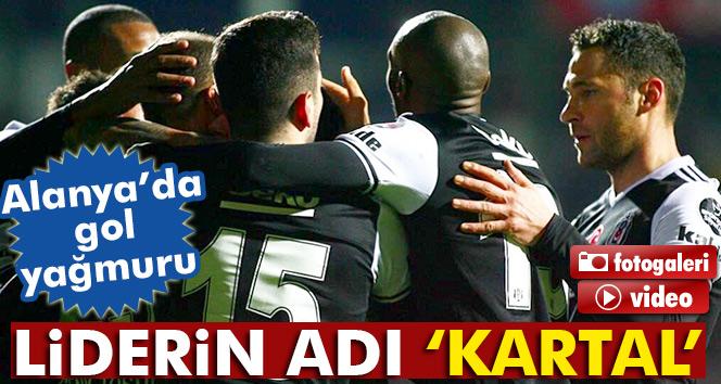 Alanyaspor Beşiktaş özeti Ve Golleri İzle: Aytemiz Alanyaspor 1-4 Beşiktaş Maçı Geniş özet Ve Golleri