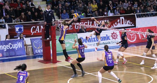 Çanakkale Belediyespor: 2 Olympiakos: 3