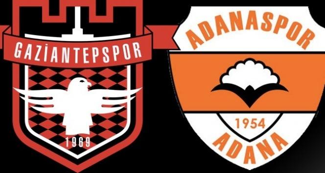 Gaziantepspor Adanaspor maçı saat kaçta hangi kanalda?