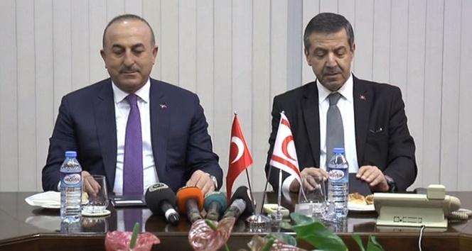 Başbakan Özgürgün Bakan Çavuşoğlu'nu kabul etti