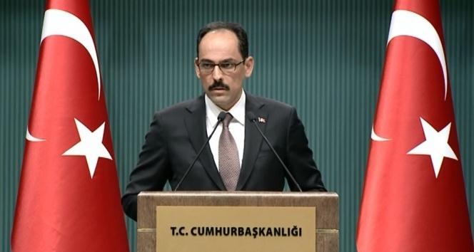 Cumhurbaşkanlığı Sözcüsü Kalın: 'IMF yılları Türkiye için geride kaldı'