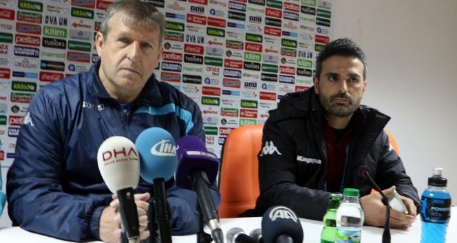 Alanyaspor - Adanaspor maçının ardından teknik adamlar konuştu