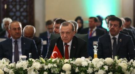Cumhurbaşkanı Erdoğan: Bölge içi ticareti arttıracak adımları atmamız şarttır