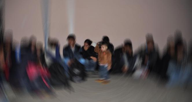 Gömeç'te 38 düzensiz göçmen yakalandı