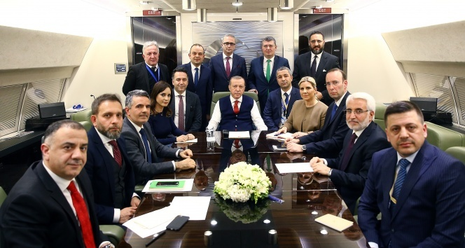 Erdoğan'dan 'karargah rahatsız' manşetine bir tepki daha