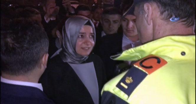 Bakan Kaya, Hollanda polisi ile tartıştı
