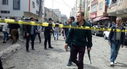 Diyarbakırda şiddetli patlama |Patlamadan ilk görüntüler