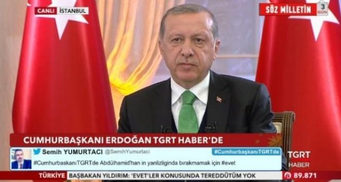 Cumhurbaşkanı Erdoğan'dan tarihi AB açıklaması