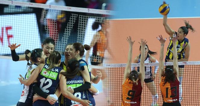 Fenerbahçe, Galatasaray'ı mağlup ederek şampiyon oldu| Vestel Venüs Sultanlar Ligi: Galatasaray: 0 - Fenerbahçe: 3