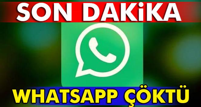 Son Dakika: Whatsapp neden yok ve neden çöktü? Whatsapp neden girilmiyor? -Erişim sıkıntısı- 31 Aralık 2017